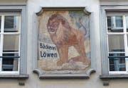 15 Hausfassaden gilt es der richtigen Adresse zuzuordnen. Jene der ehemaligen Bäckerei zum Löwen ist eine davon. (Bild: PD)