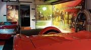 Rar, exklusiv, exotisch, technisch raffiniert und schnell präsentieren sich die Fahrzeuge in Romanshorn. Neu bildet das Rock- & Pop-Museum dafür den Rahmen. (Bild: PD)