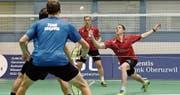 Artem Pochtarev (vorne) und Nicolas Blondel waren auch gegen Argovia erfolgreich. (Bild: Matthias Zindel)