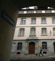 Am Ort der heutigen Hinterlauben wurden am 13. Februar 1349 die Juden von St. Gallen verbrannt. (Bild: Ralph Ribi)