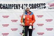 Fuhr international aufs Podest: Aline Höpli, Skiclub Gossau. (Bild: PD)