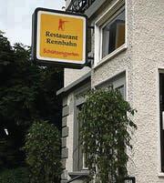 Restaurant Rennbahn hat überlebt. (Bild: Fredi Kurth)