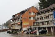 Das frühere Hotel Löwen in Wattwil heisst «Motelina». Auch das Restaurant trägt einen neuen Namen: «I Due Fratelli». (Bild: Martin Knoepfel)