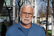 Walter Haller, 62, Hauswart, Wittenbach (Bild: Matthias Fässler)