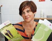 Petra Kunz berät Menschen mit Demenz und Angehörige in der neuen Demenzanlaufstelle in Münchwilen. (Bild: PD)