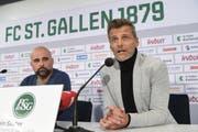 St.Gallens neuer Sportchef heisst Alain Sutter. (Bild: Ralph Ribi)
