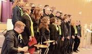 Die Sängerinnen und Sänger des Good News Chors Oberuzwil. (Bild: Christine Gregorin)