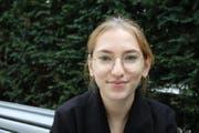 Jelena Bulovic, 16, Kantonsschülerin, Goldach. (Bild: Marlen Hämmerli)