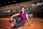 Die Leichtathletin Salomé Kora ist eine der sechs Einzelkandidaten. Sie trainierte früher bei LAG Gossau. (Bild: Ralph Ribi)