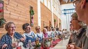 Bäuerinnen von Rüthi bis Thal schätzten den Nachmittag unter ihresgleichen. (Bild: pd)