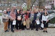Die ausgebildeten Liela-Kursleiterinnen und -leiter mit Helfer und Verantwortlichen der Gemeinde Wattwil. (Bild: PD)