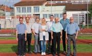 Das OK mit Pascal Knaus, Walter Bösch, Köbi Zimmermann, Rebekka Müller, Bruno Näf, Stefan Frei, Peter Haag und Markus Hörler. (Bilder: pd)