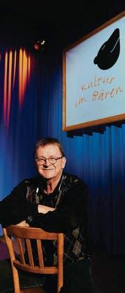 Walter «Walti» Sutter, Gründervater von «Kultur im Bären». (Bild: Urs Bucher)