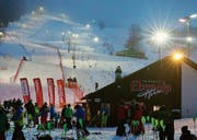 Am Skilift Horn wird Anfang nächster Woche zu zwei Nachtslaloms gestartet. (Bild: PD)