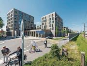 Gutes Bauen Ostschweiz, Strassenbau als Städtebau in Arbon am Beispiel der neuen Kantonsstrasse im Zentrum, u.a. zur Entlastung der Altstadt. (Bild: Hanspeter Schiess)