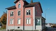 Der Noch-Standort der Galerie zur alten Bank an der Henauerstrasse 20 in Niederuzwil. (Bild: Gianni Amstutz)