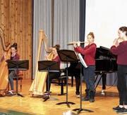 Sina Löw, Miriam Bollhalder, Barbara Bollhalder und Florina Kunz (von links) sorgten für einen besonderen Hörgenuss.