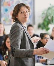 Projektleiterin Renée Lechner. (Bild: Hanspeter Schiess)