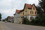 Das Freudenhaus an der Bischofszellerstrasse in Arnegg ist bereits wieder Geschichte. (Bild: Manuela Bruhin)