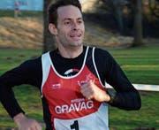 Mathias Nüesch entschied den Crosslauf dieses Jahr vorzeitig für sich. (Bild: Roland Jäger)