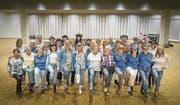 Tanzen ohne Partner, dafür mit der Gruppe. Jeden Donnerstag treffen sich die Mitglieder des Line-Dance-Vereins in Wittenbach. (Bild: Michel Canonica)