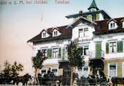 Das Hotel Fünfländerblick war bei Kurgästen sehr beliebt. (Bild: PD)