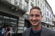 Sebastian Jacober, 36, Projektleiter, St.Gallen. (Bild: Marlen Hämmerli)