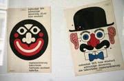 Plakate vom Mohrenball, der 2001 eingestellt wurde. (Bild: Fredi Kurth)