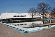 Seit der Eröffnung des Sportparks Bergholz 2013 war Robert Signer Verwaltungsratspräsident der «Wispag». Nun steht ein Wechsel bevor. (Bild: Simon Dudle)