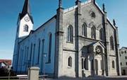 Die 145 Jahre alte Oberegger Kirche gehört zu den markanten und vielfach bewunderten Bauwerken der Region. (Bild: Peter Eggenberger)