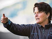 AUSGABE: 03.05.2016-REGSPO / Fussball NLA Frauen - FC St. Gallen gegen FC Staad: Staad Trainerin Sissy Raith (Bild: Urs Bucher (Urs Bucher))