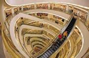 Einkaufszentrum in San Francisco: Gefragt sind Anlagen für die mobile Kommunikation zwischen Kunde und Geschäft. (Bild: ap/Eric Risberg)