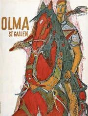 Das Olma-Plakat 1952 von Alois Carigiet (Bild: PD)