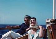 Maria Callas und Aristoteles Onassis: Das war eine ebenso intensive wie zuletzt schmerzhafte Liebe. (Bild: Praesens Film)