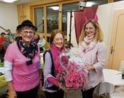Emmy Widmer, Hildegard Schaedler sowie Erika Nef (von links). (Bild: PD)