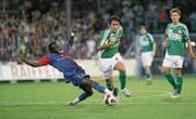 Marcos Gelabert war für die gegnerischen Spieler oft kaum zu stoppen. (Bild: Ralph Ribi (Espenmoos, 25. Juli 2007))