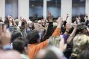 Durchschnittlich besuchen zwischen 2,5 und 3,8 Prozent der Wittenbacher Bevölkerung die Bürgerversammlung. (Bild: Luca Linder (25.11.2013))
