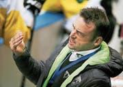 Trainer Stephan Mair musste eine weitere Niederlage gegen Rapperswil-Jona zur Kenntnis nehmen. (Bild: Mario Gaccioli (Kreuzlingen, 18. August 2017))