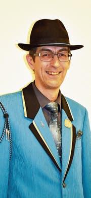 Werner Lusti in der schmucken Uniform seines Stammvereins, der Musikgesellschaft Ennetbühl. (Bild: PD)