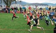 Am Nachmittag, nach der CH-Meisterschaft, finden die Kinderläufe mit Crosslauf-Feeling statt. (Bild: pd)
