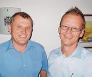 Wollen kandidieren: Felix Bischofberger aus Altenrhein (links, bisher) und Werner Reifler aus Thal (neu). (Bild: pd)