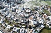 Die 850-Seelen-Gemeinde Berg wird in den nächsten fünf Jahren voraussichtlich um 250 Einwohner wachsen. (Bild: Urs Bucher)