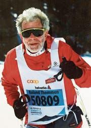 Roland Thommen am Engadiner Skimarathon 2014. (Bild: PD)