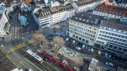 Der Stadtrat spricht sich für einen flexiblen Markt auf dem St.Galler Marktplatz aus. (Bild: Michel Canonica, Benjamin Manser)