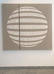 Das Bild «Sandkugel» von Barbara Zogg-Tanner. (Bild: pd/Christina Ryffel)