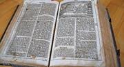 Die mitgebrachte Lutherbibel hat keinen grossen materiellen Wert.