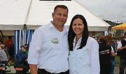 Andrea und Jörg Abderhalden leisteten mit einem Team von mehreren hundert Helferinnen und Helfern einen Kraftakt.