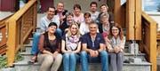 Die Schauspielerinnen und Schauspieler verbrachten ein Wochenende in Langenegg. (Bild: pd)
