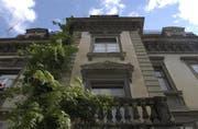 Auf der Roten Liste der Schweizer Heimatschutzes: Die Villa Wiesental an der Rosenbergstrasse. (Bild: Trix Niderau)