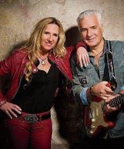Rocken gemeinsam die Bühne im Höfli Pub: Gery Ninaus und George Kouvatsis. (Bild: PD)